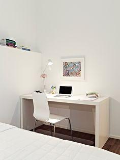 Airy white studio