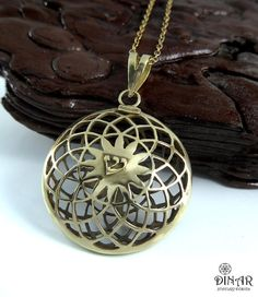 Hey, I found this really awesome Etsy listing at https://www.etsy.com/il-en/listing/154467570/14k-gold-mandala-pendant-large-round
