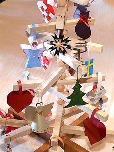 Advent tree - chunky