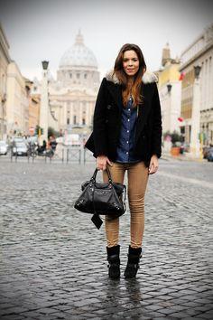 Being stylish n warm in winter
