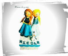 Fofuchas, princesa Elsa y Ana de Frozen