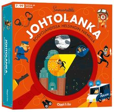 Johtolanka -salapoliisipeli. A detective game for kids placed in Helsinki. My 5 year old loves this :)