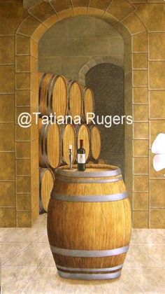 Wine Cellar Painting Ideas On Pinterest Wine Cellar