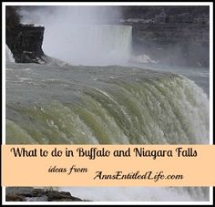 What To Do In Buffalo and Niagara Falls - a list of more than 100 free or inexpensive things to do in Western New York