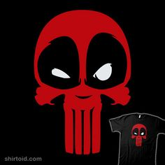 Vigilante with a Mouth #Deadpool #Punisher