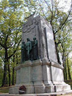 Marietta, GA : Illinois Monument, Kennesaw Mountain National Battlefield Park, Marietta, GA
