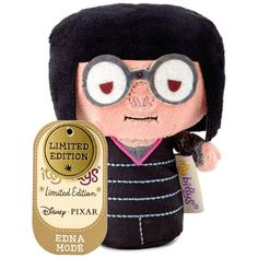 b18b05cd42f itty bittys® The Incredibles Edna Mode Stuffed Animal