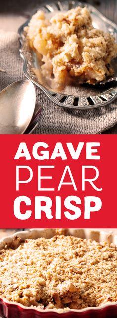 pear cinnamon crisp with vanilla ice cream recipes dishmaps pear crisp ...