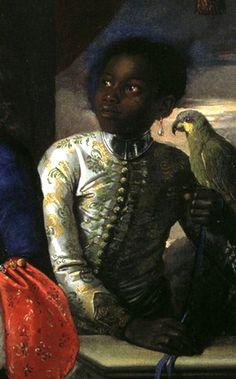 Anton Domenico Gabbiani Portrait of Three... - People of Color in European Art History