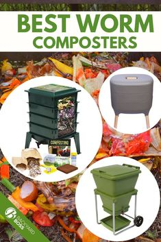 If you are considering composting, worms might be what you are looking for. Here are a few worm composters that we consider our best options.