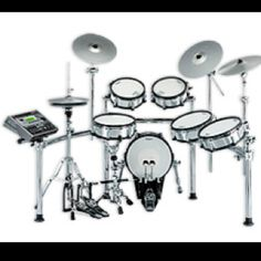 I want this electric drumset! :/
