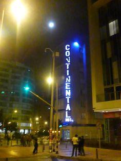 Bogotá, strange night.