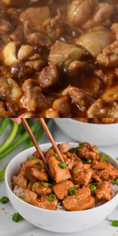 Chicken This Bourbon Chicken is such a great and easy dinner that your whole family is going to love!This Bourbon Chicken is such a great and easy dinner that your whole family is going to love! Beef Recipes For Dinner, Vegetarian Recipes Easy, Entree Recipes, Asian Recipes, Appetizer Recipes, Great Recipes, Cooking Recipes, Healthy Recipes, Curry Recipes