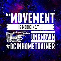 Movement is medicine. -- Unknown  #fitnessmotivation #personaltrainer #vegan #washingtondc #fitfam #fitnessmotivation #dcinhometrainer