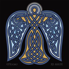 Angel Knot - Celtic Knotwork by E.F. Rooney