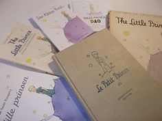 The Little Prince in different languages