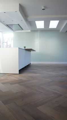 floors only to soften modern space