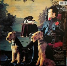 "A post-punk, New Wave superstar, Stuart Leslie Goddard, better known as Adam Ant with his Airedales. From his album, ""Physique"" 1989."