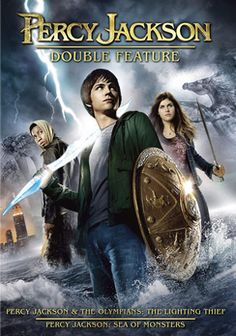 Percy Jackson And The Olympians: The Lightning Thief / Percy Jackson: Sea of Monsters (Bilingual) [Blu-ray] Zeus Lightning, The Lightning Thief, Good Movies To Watch, New Movies, Percy Jackson Film, Douglas Smith, Sea Of Monsters, The Golden Compass, Logan Lerman