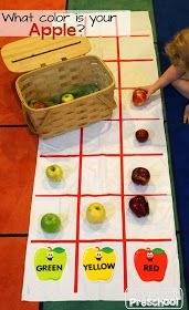 Play to Learn Preschool: Apple Circle Time