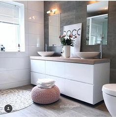 Salle de bain scandinave home interior inspo dom, wnętrza, łazienka. Bad Inspiration, Bathroom Inspiration, Bathroom Interior, Modern Bathroom, Simple Bathroom, Pinterest Bathroom, Sweet Home, Bathroom Goals, Bathroom Ideas