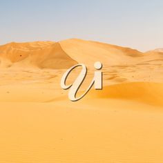 the empty quarter and outdoor sand dune in oman old desert rub al khali Rub' Al Khali, Dune, Royalty Free Images, Empty, Deserts, Stock Photos, Nature, Outdoor, Outdoors