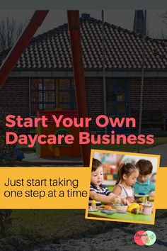 So, you've thought about opening your own daycare? I have been a director for 20 years and know first hand how rewarding but challenging it can be. My advice would be to do thorough research first to make sure you are up for the challenge before you dive in. Once you know that the daycare world is for you, jump in with both feet! Starting A Daycare, Up For The Challenge, First Step, Childcare, 20 Years, Knowing You, Challenges, Advice, Business