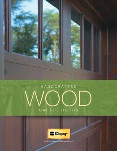 Wooden Garage Doors, Product Catalog, Entry Doors, Brochures, Gates, House Ideas, Book, Wood Garage Doors, Entrance Doors