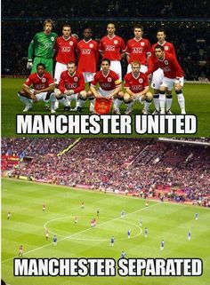 Manchester United vs Separated