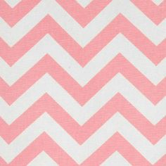 Premier Prints Fabric Zig Zag Chevron in Baby Pink and White - 2 yards ($20) ❤ liked on Polyvore