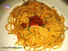 Pasta con i ricci di mare ricetta semplice