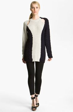 3.1 Phillip Lim Cable Knit Sweater available at #Nordstrom