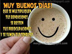 Fotos De Buenos Dias Amigos | Buenos Días con Buenos Deseos para ti. Postal cristiana de bendición ...