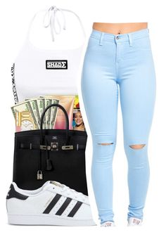 """Untitled #435"" by mindset-on-mindless ❤ liked on Polyvore featuring beauty and adidas"