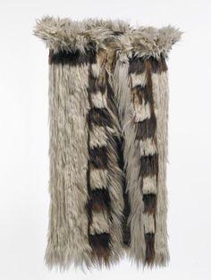 Kahu kuri (dog-skin cloaks) were the most prestigious Maori cloaks before the…