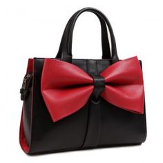 SHARE & Get it FREE | Color Block Bowknot PU Leather Tote BagFor Fashion Lovers only:80,000+ Items • FREE SHIPPING Join Twinkledeals: Get YOUR $50 NOW!