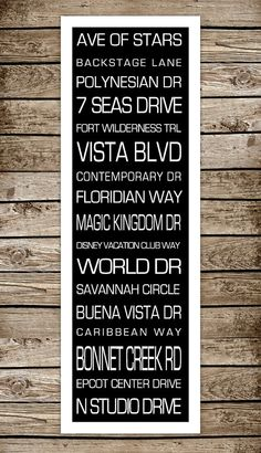 Disney/Orlando destinations