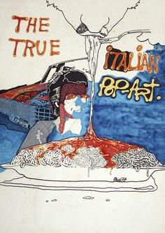 """Andrea Pazienza - The true Italian Pop-Art, 1973 """"La Magnifica Ossessione"""" www.mart.tn.it/magnificaossessione"""
