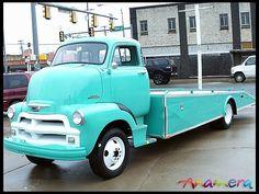 1954 chevy COE - Custom Car Hauler