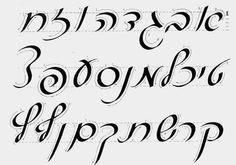 Calligraphy Styles A To Z Fancy calligraphy alphabet ...