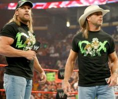 My all time favorite tag team: DX!!!!