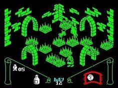Knight Lore (1984) ZX Spectrum screenshot