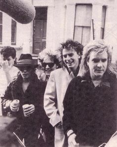 The group in 1985