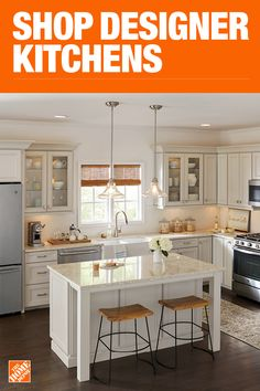 Kitchen Ideas u0026 How-To Guides. Kitchen design L. The Home Depot & Pinterest