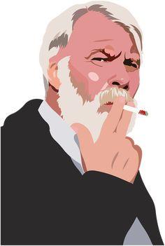 Old Man Smoke Old Man Senior transparent image