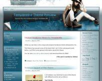 Heavenly Blue WordPress Theme