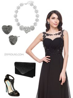 Appliques lace and sequins, make this dress perfect for the Prom.