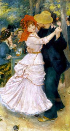 Pierre-Auguste Renoir French Painter (Impressionism) 1841-1919 Dance at Bougival, 1883 (Museum of Fine Arts at Boston, Massachusetts, U.S.A)