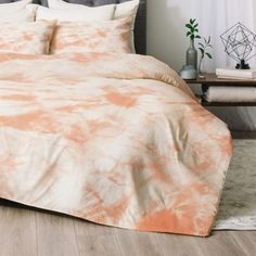 Image result for peach tie dye sheet