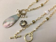 Shells abd Pearls Sounds like the Beach to me This Uniquely   Etsy